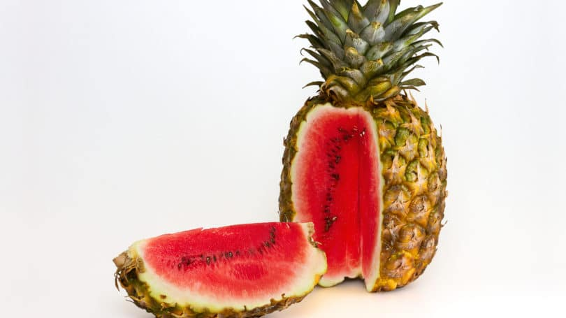 watermelon pineapple hybrid food gmo 810x455 1